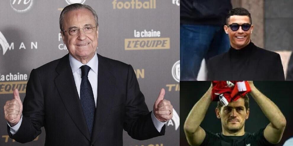 """Da Ronaldo """"imbecille"""" a Figo """"figlio di p...."""": tutti gli insulti di Perez"""