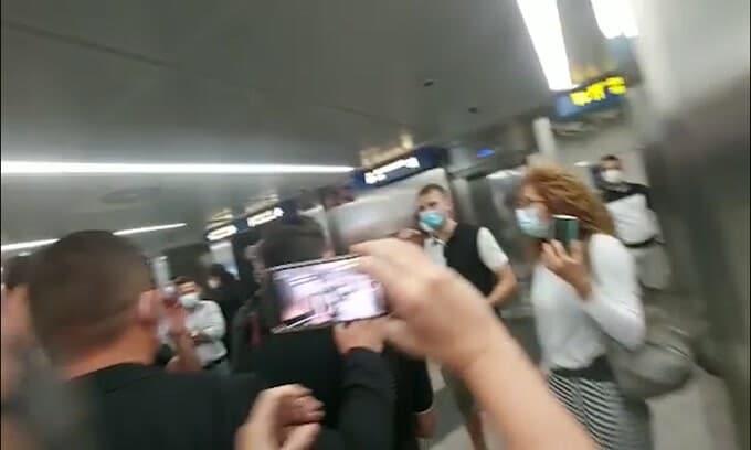 Milan, Brahim Diaz è sbarcato a Linate