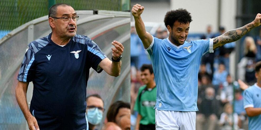 Lazio show ad Auronzo: esordio da 10-0 per Sarri!