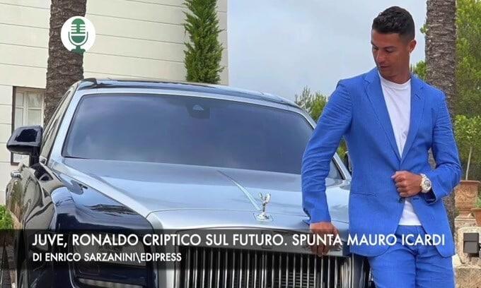 Juventus, Ronaldo criptico sul futuro. Spunta Mauro Icardi