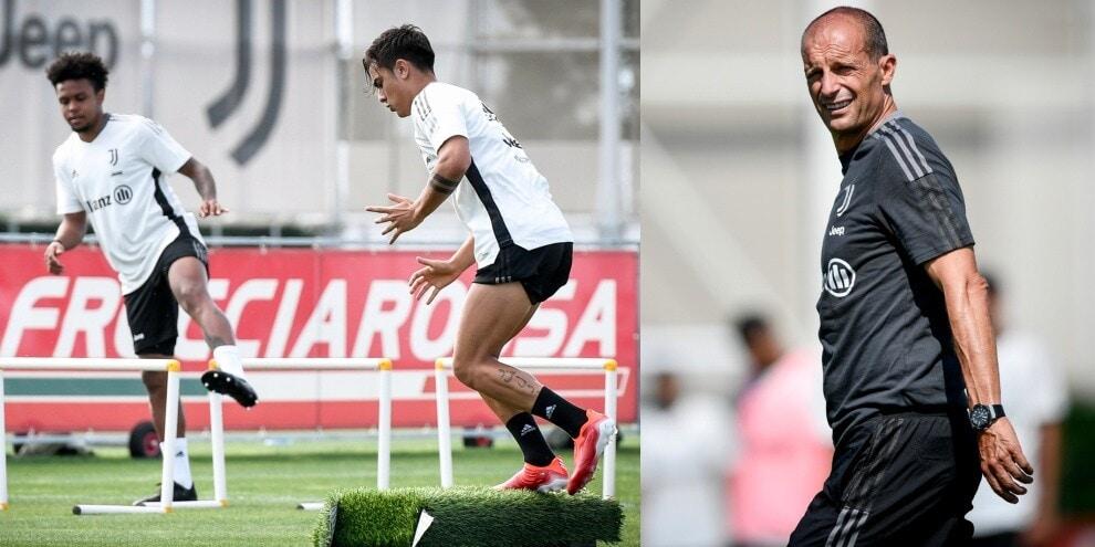 Juve, Dybala è tornato al top: Allegri apprezza