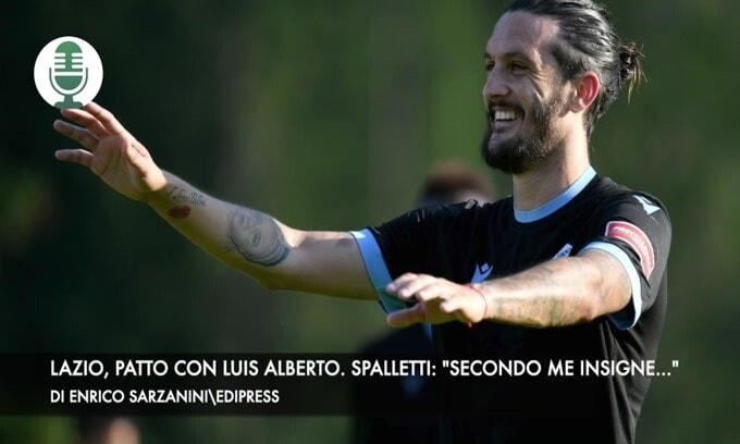 """Lazio, patto con Luis Alberto. Spalletti: """"Secondo me Insigne..."""""""