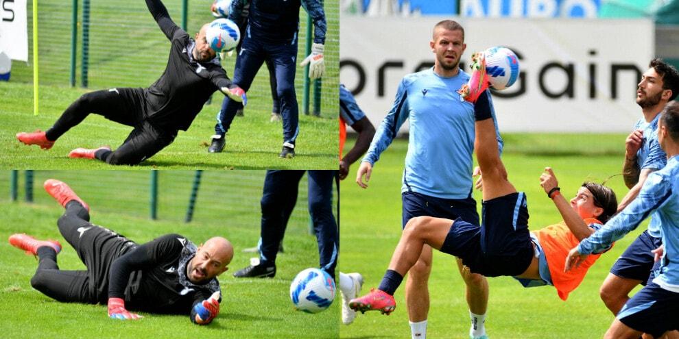 Lazio, Luka Romero dà spettacolo. Reina vola tra i pali