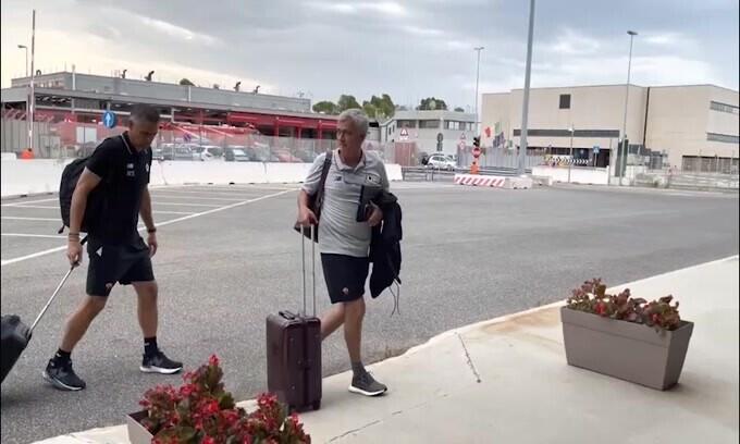 La Roma vola in Portogallo