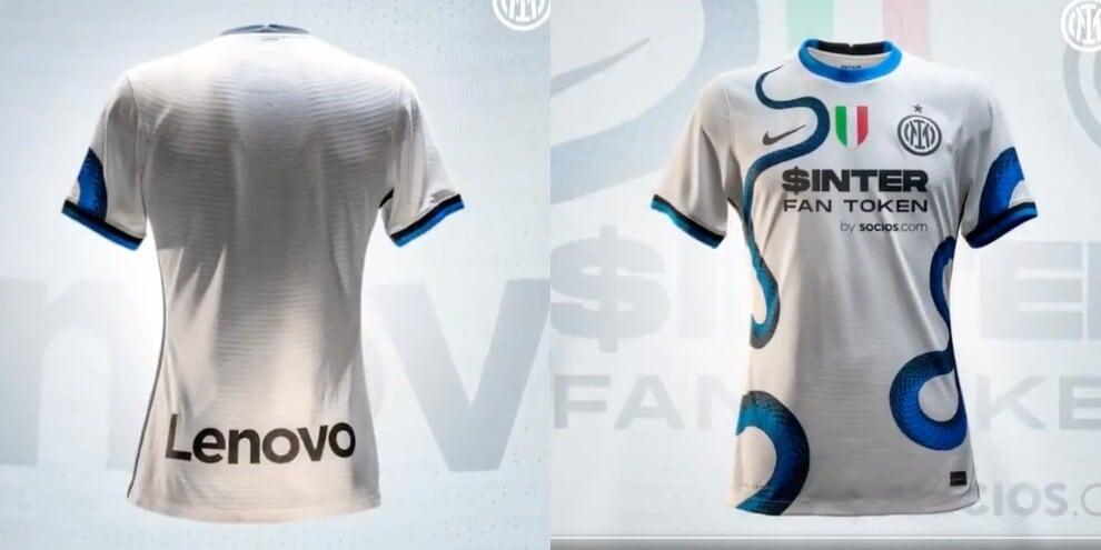 Inter, ecco la seconda maglia 2021-22: domina il biscione