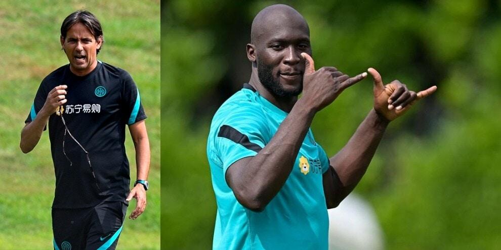 Inter, Inzaghi scopre Lukaku: il belga già al lavoro