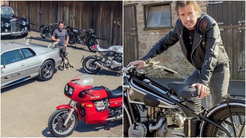 Richard Hammond mette all'asta le auto e le moto del suo garage personale