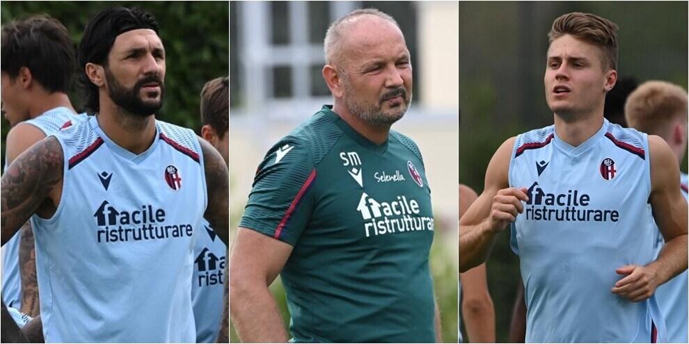Bologna, proseguono gli allenamenti in attesa di Arnautovic