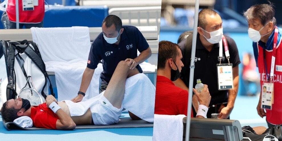 Olimpiadi, Medvedev ko: intervengono i medici