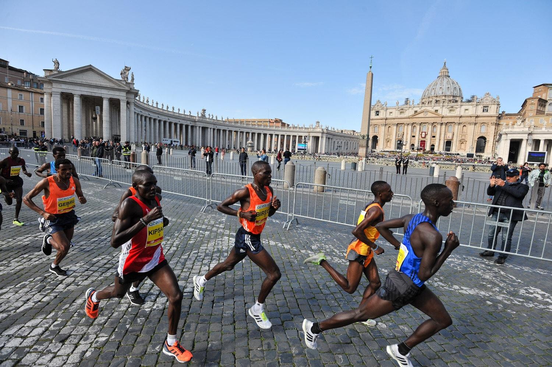 Il percorso di Acea Run Rome The Marathon e Acea Run4Rome
