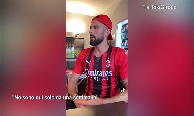 Milan, Giroud l'italiano...