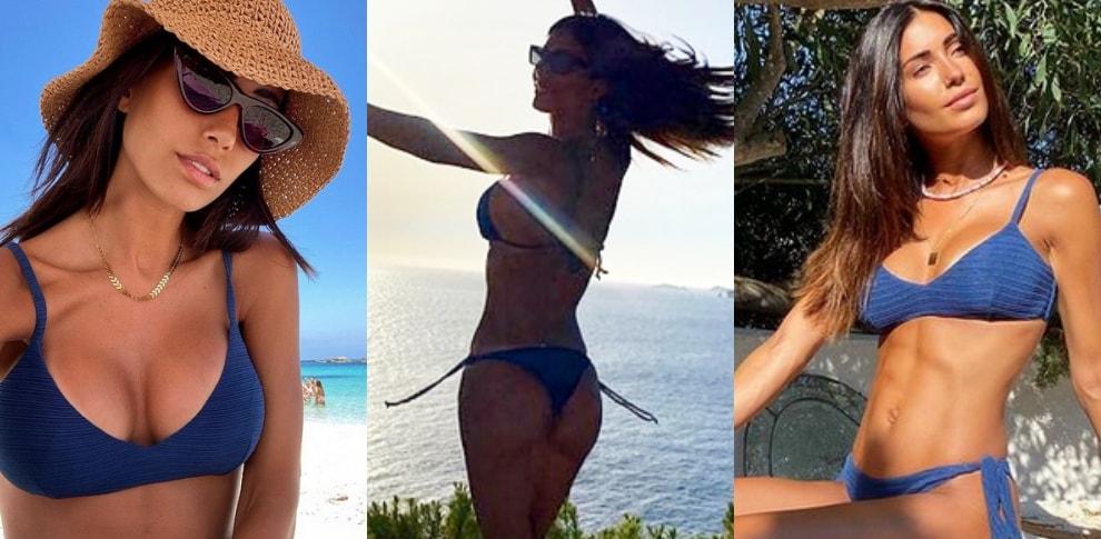 Federica Nargi e la calda estate a Ibiza