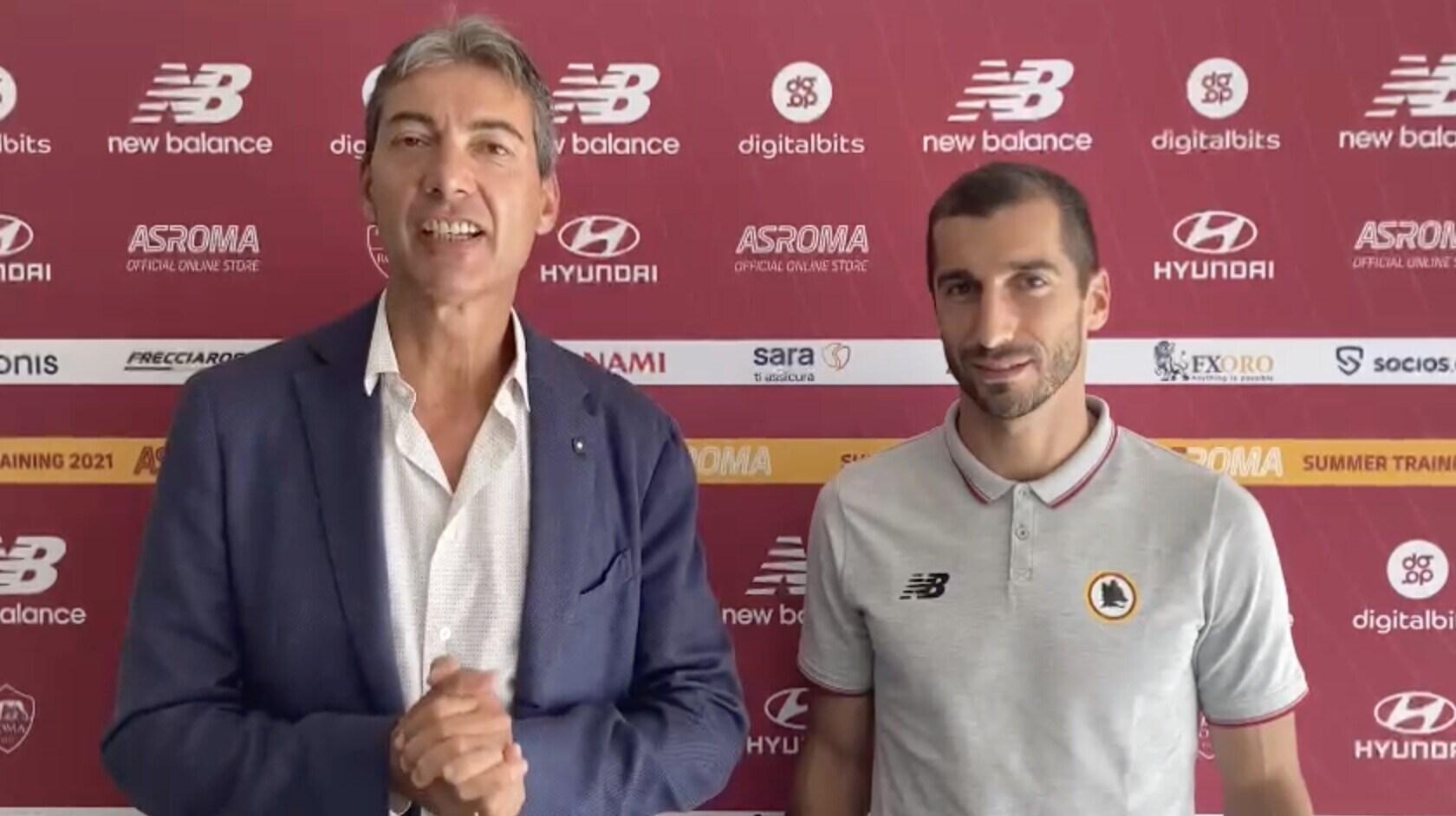 """Mkhitaryan esclusivo: """"Roma, faremo di tutto per vincere"""""""