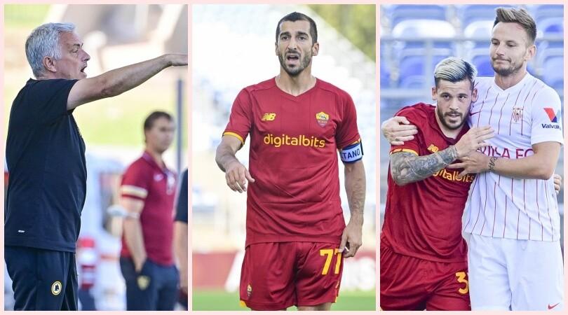 Roma-Siviglia: Mourinho alterna turnover e titolari