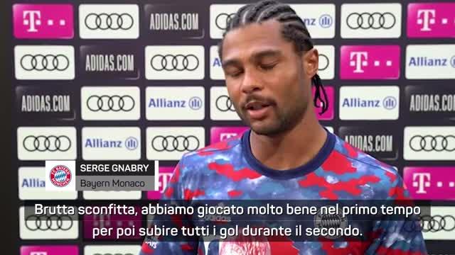 "Napoli, 3 reti al Bayern. Gnabry: ""Brutta sconfitta"""