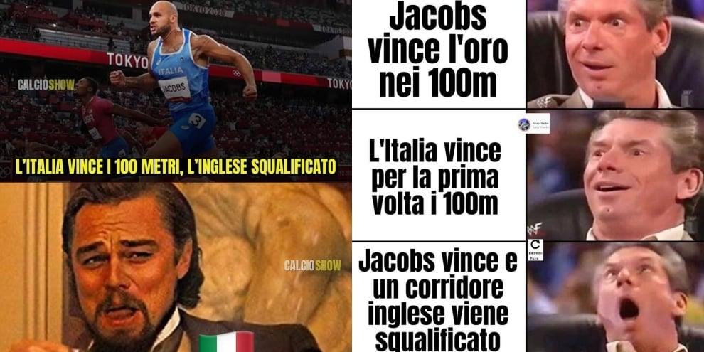 Oro a Jacobs e Hughes squalificato: è sempre Italia-Inghilterra sui social
