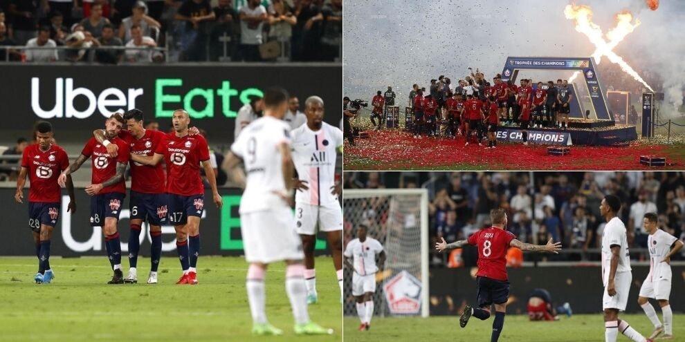 Psg, addio primo trofeo stagionale: la Supercoppa è del Lille