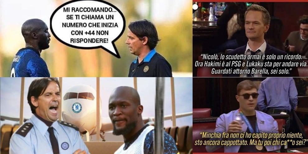 Lukaku dall'Inter al Chelsea: la trattativa vista dai social FOTO