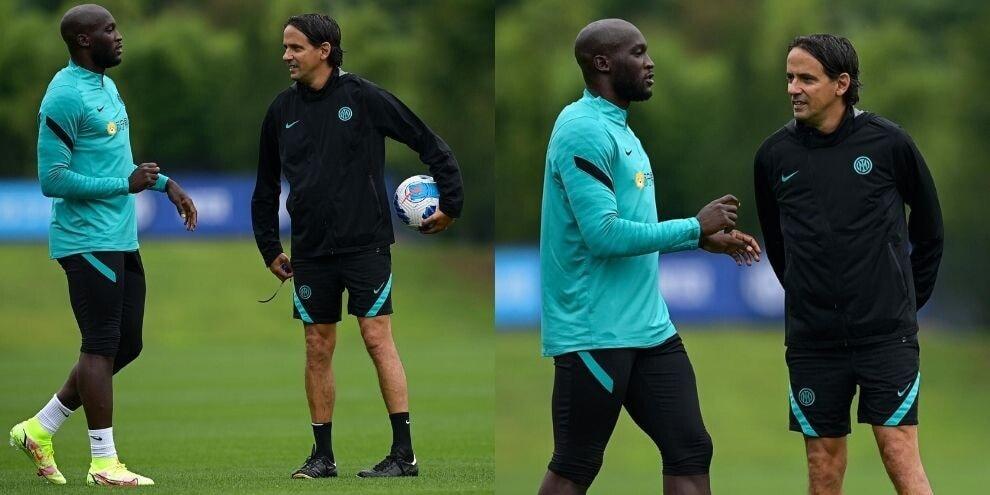 Lukaku a colloquio con Inzaghi: si parla del Chelsea?