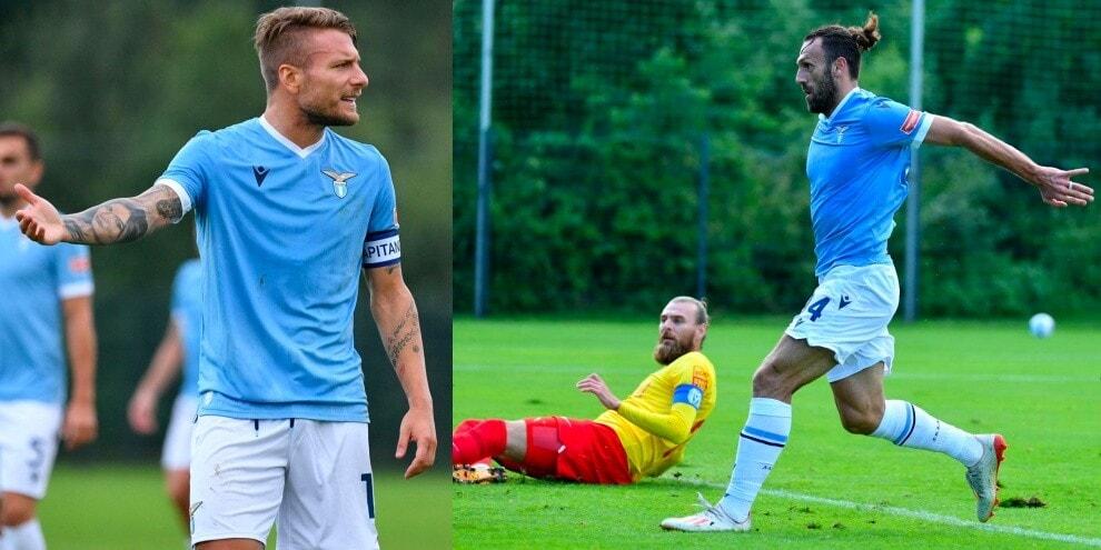 Immobile sbaglia, Muriqi no: ma Lazio-Meppen è solo 1-1