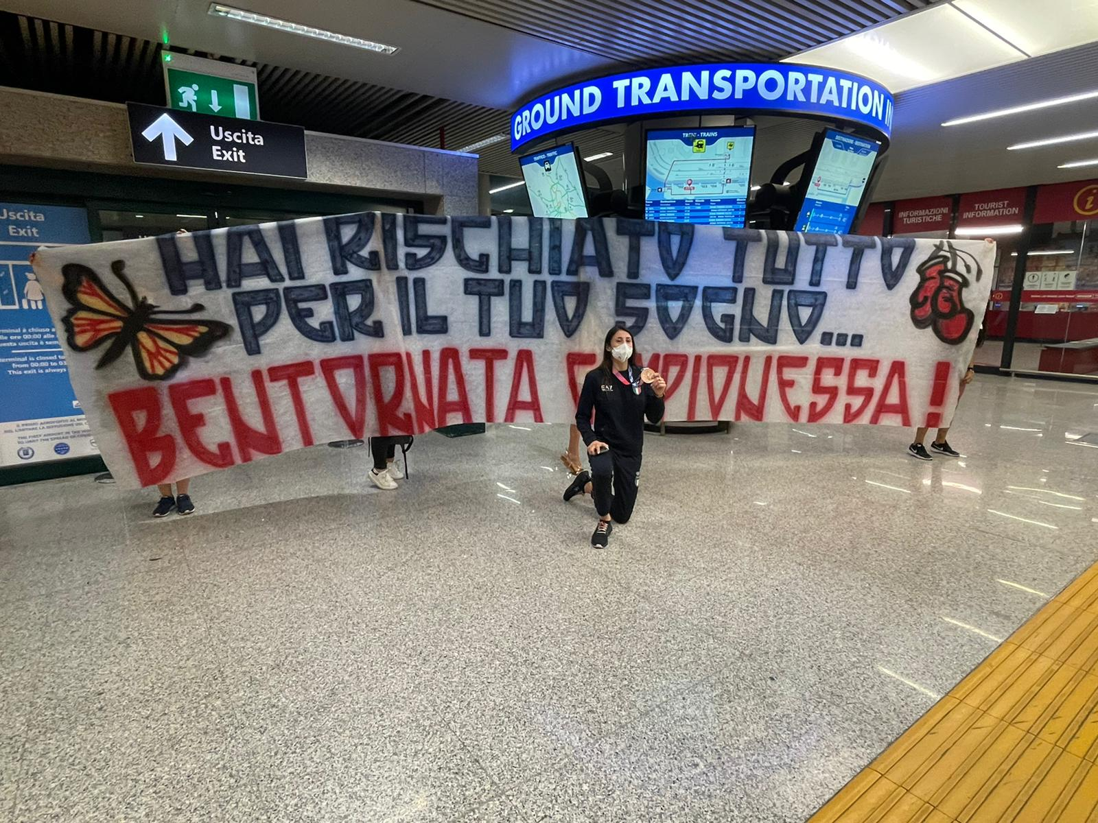 Irma Testa, che festa al rientro in Italia!