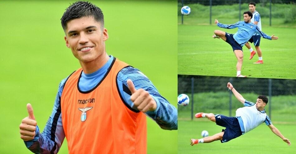 Lazio, che acrobazie nei tiri! E Correa sorride…