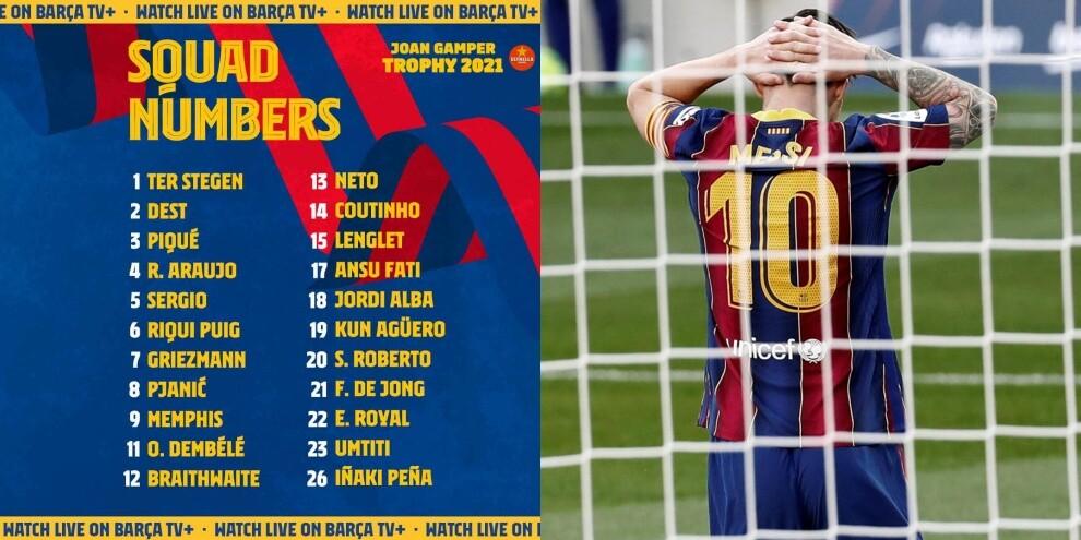 122807316 9089bf1c 25a2 4a40 82a2 f370e6e3506a - Il primo Barcellona senza Messi: ecco i convocati per la Juve