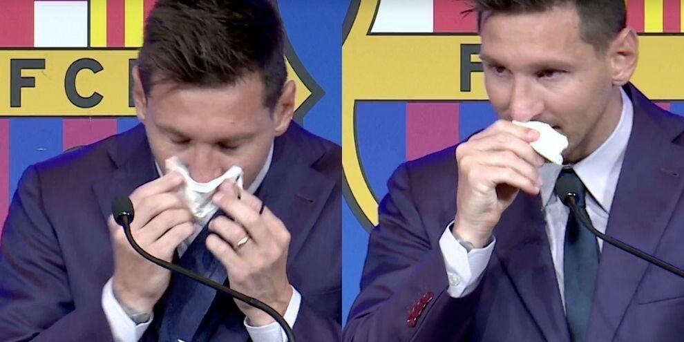 Messi, addio in lacrime: l'ultimo saluto al Barcellona
