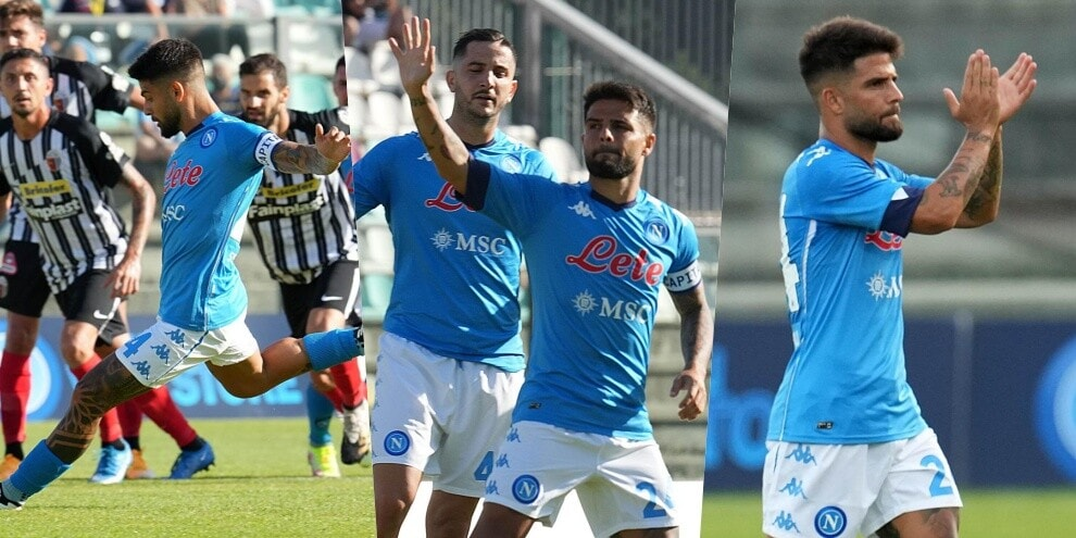 Insigne trascina il Napoli e si prende l'ovazione dei tifosi