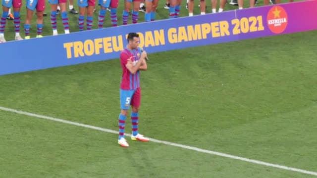"""Busquets, tributo da brividi a Messi: """"Sei il migliore"""""""
