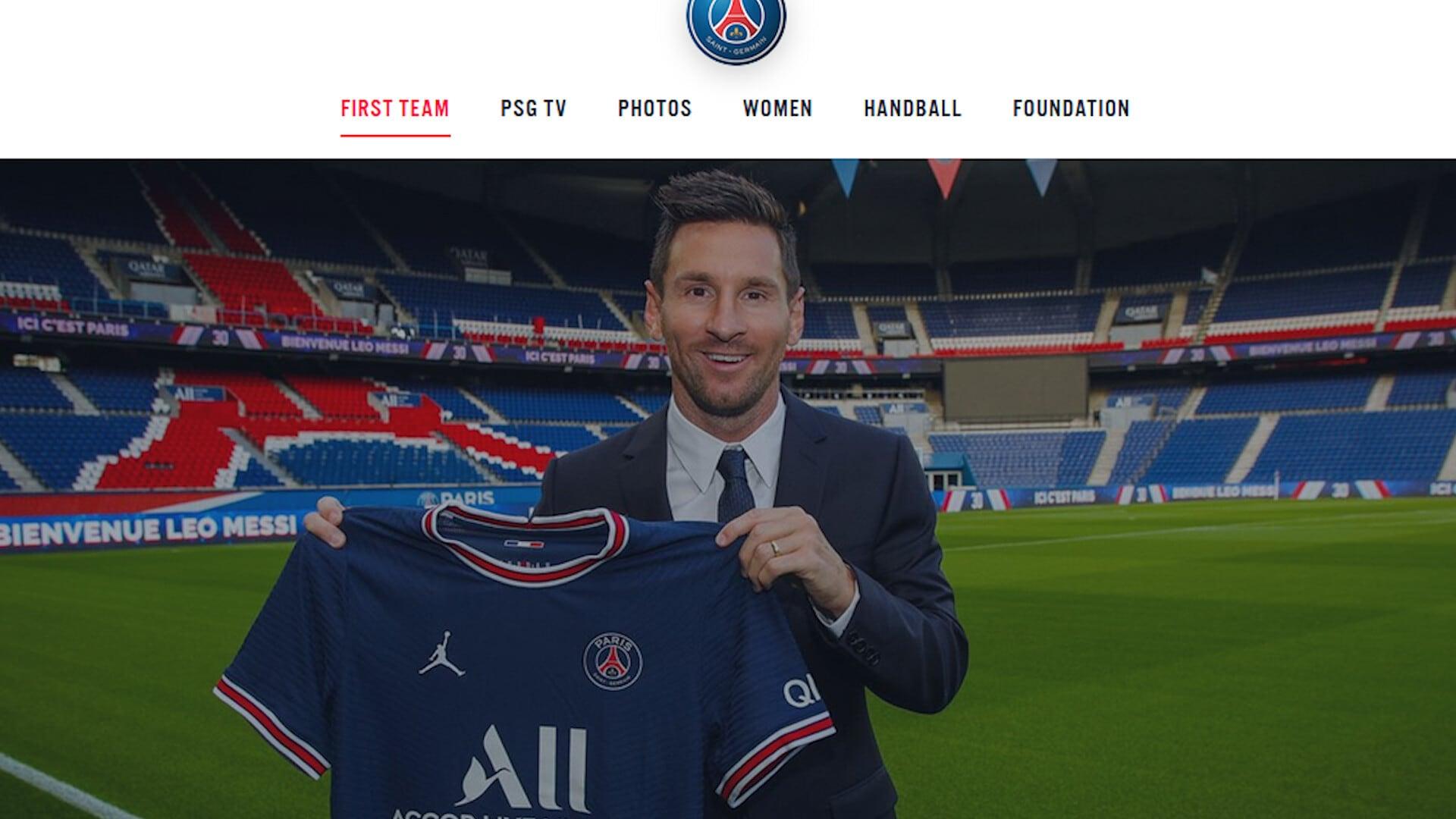 Ufficiale: Lionel Messi è un nuovo giocatore del Psg
