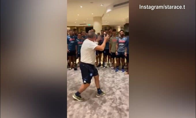 """La carica di Tommy Starace: """"Noi siamo il Napoli"""""""