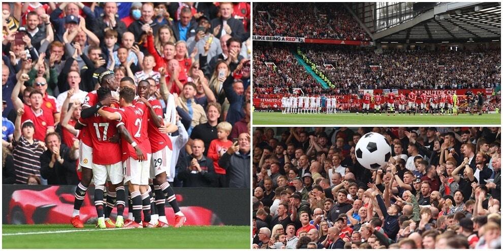 Old Trafford, in settantamila per Man Utd-Leeds