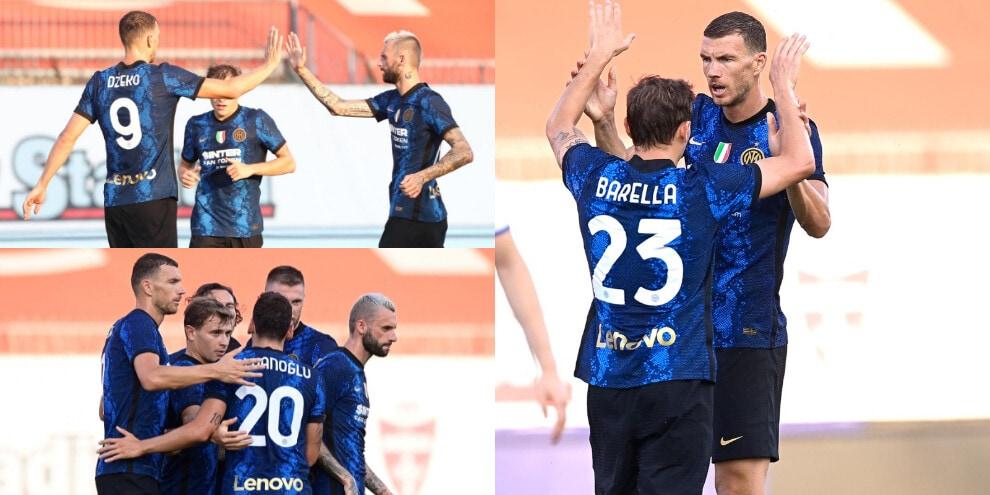 Dzeko, gol all'esordio con l'Inter! Dinamo Kiev battuta 3-0