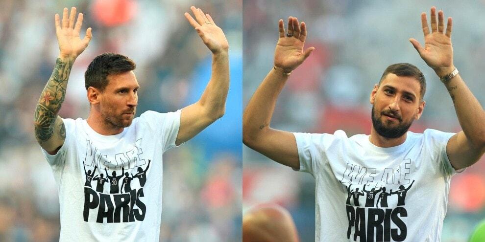 Da Messi a Donnarumma, il Psg presenta le nuove stelle