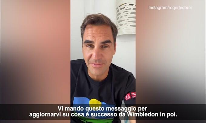 """Federer annuncia: """"Starò fuori per diversi mesi"""""""