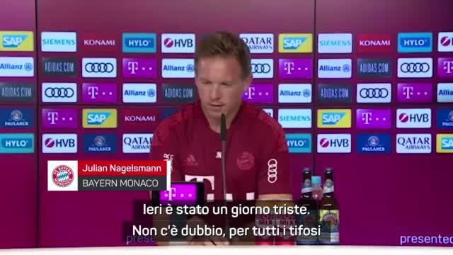 """Nagelsmann: """"Ricorderemo sempre Gerd Muller"""""""