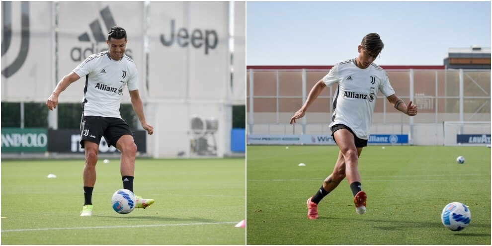 Juve, che intensità per Ronaldo e Dybala in vista dell'Udinese