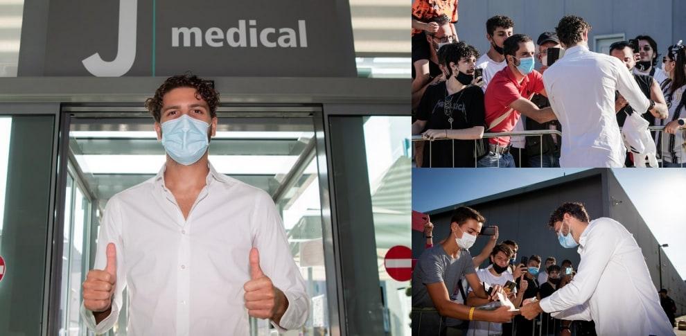Locatelli, che accoglienza al J Medical!