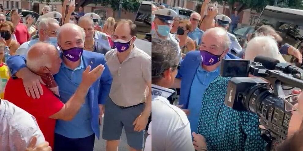 Rocco Commisso, festa a Marina di Gioiosa Ionica per il suo arrivo!