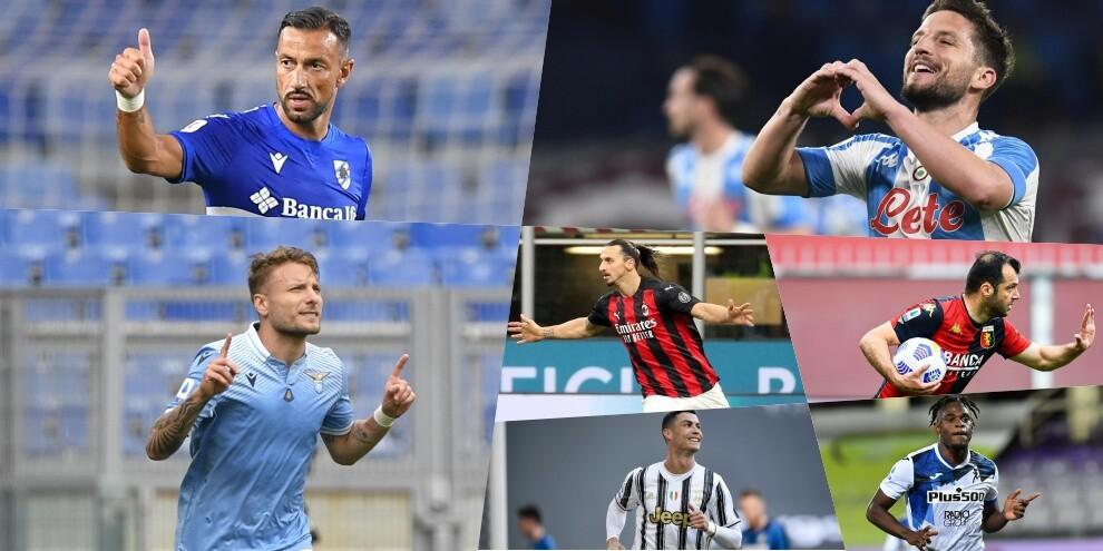Serie A, la classifica dei bomber in attività