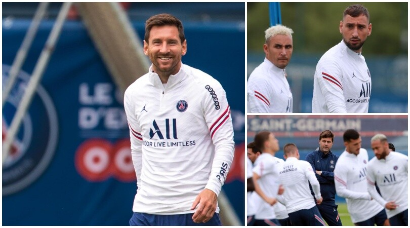 Il Psg prepara la trasferta di Brest: Messi e Donnarumma scalpitano