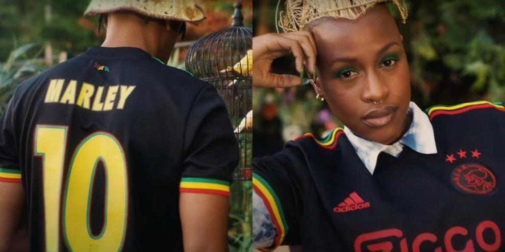 Ajax, la terza maglia è dedicata a Bob Marley