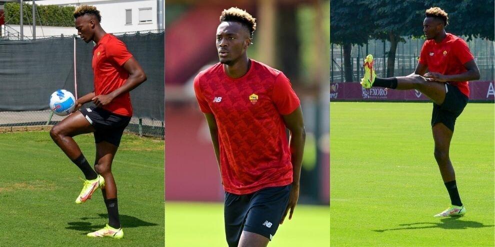 Roma, Abraham lavora duro: è pronto per la Fiorentina
