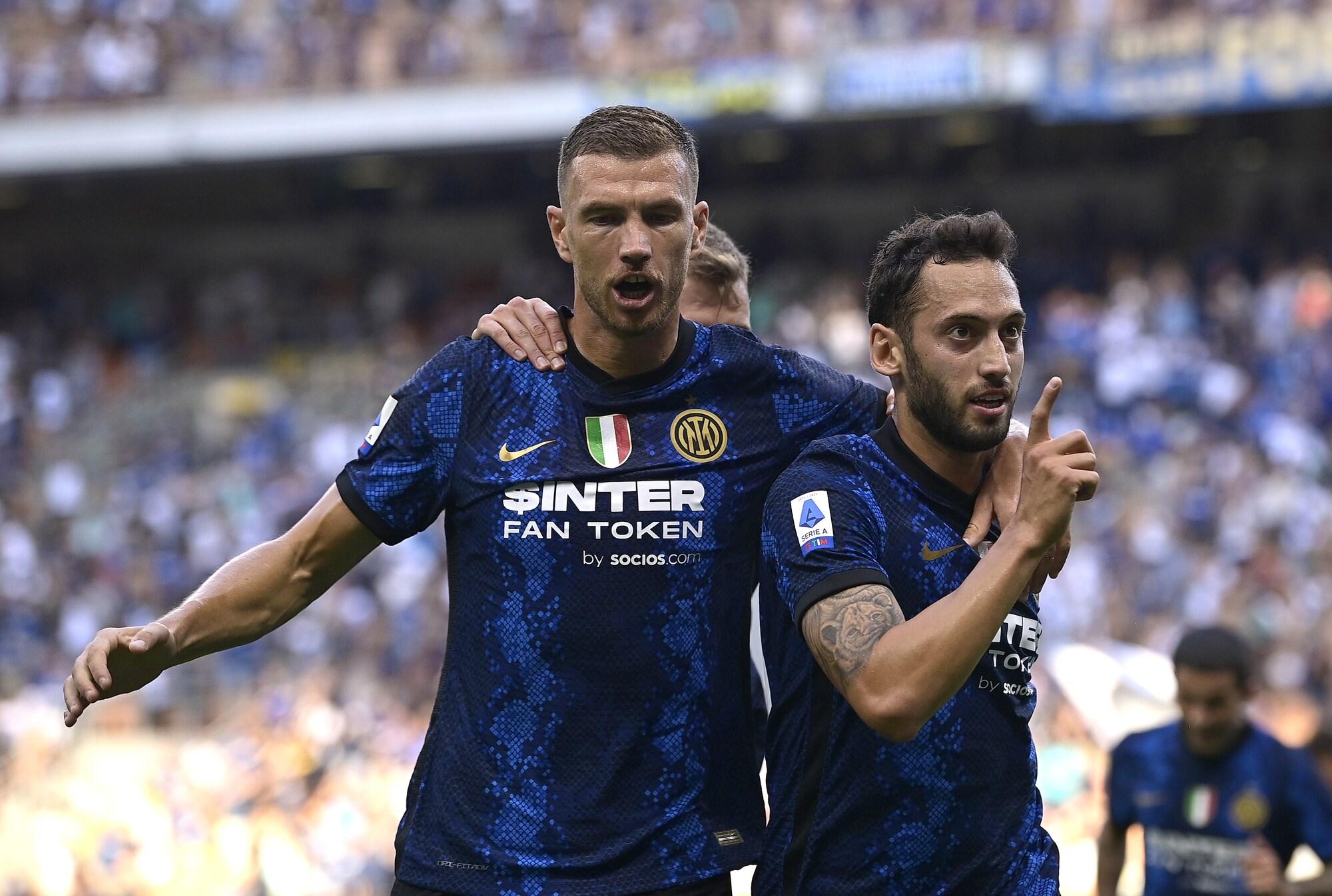 È già l'Inter di Dzeko e Calhanoglu: che poker al Genoa!
