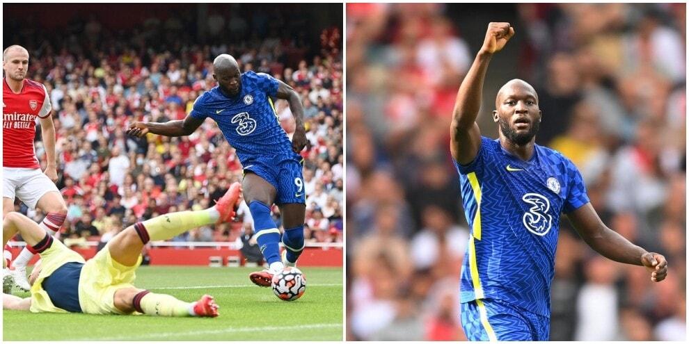 Lukaku, gol all'esordio:15' per prendersi il Chelsea