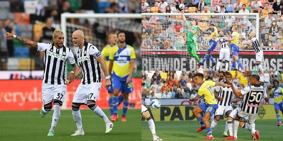 Szczesny da brivido, clamoroso 2-2 della Juve a Udine