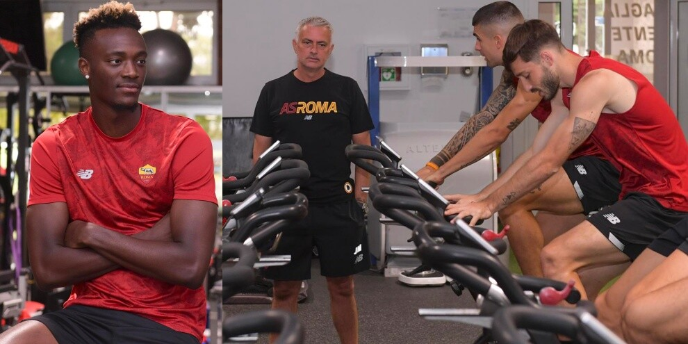 Roma pazza di Abraham: Mourinho osserva i progressi