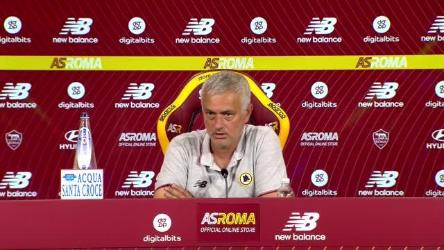 "Mourinho: ""Pellegrini? Ne vorrei tre in campo"""