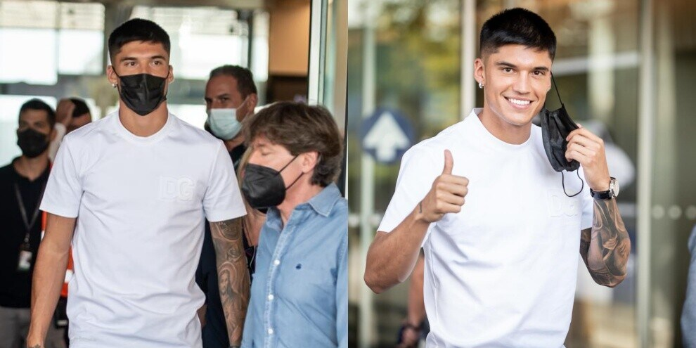Inter, Correa sbarca a Linate: quanti sorrisi!